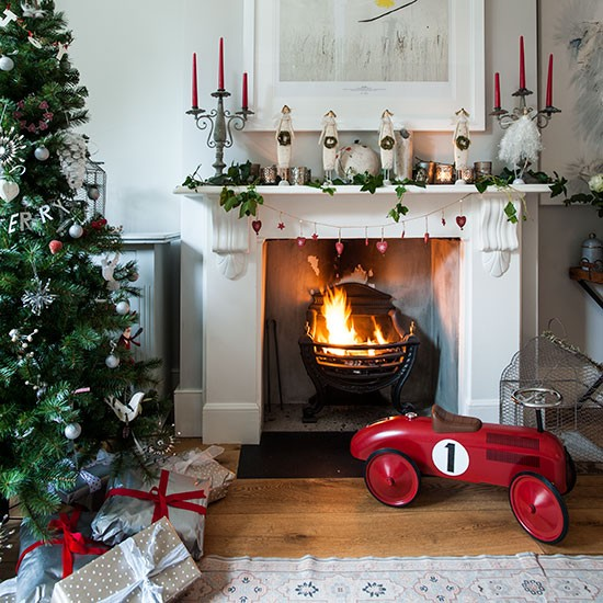 Новогоднее оформление квартиры в стиле Прованс: детская мальчика