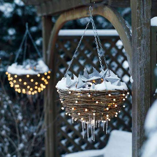 Уличные светильники для подсветки сада