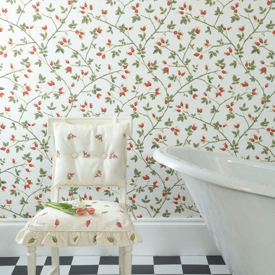 Весенние идеи для интерьера ванной комнаты