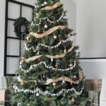 Новогодняя елка 2019 в стиле кантри — фото в деревенском духе