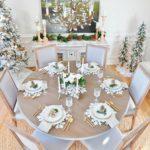 Новогоднее оформление дома 2021 — фото в природных тонах Прованса