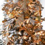 Новогодняя елка в золотом стиле — фото-идея украшения 2019 года