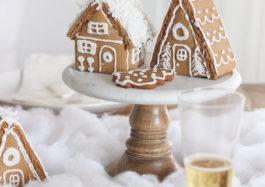 Фото пряничных домиков на Новый год