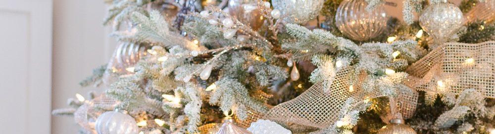 Идея украшения новогодней елки 2019 в золотых и серебряных тонах - красивые фото