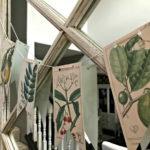 Пасхальная гирлянда — фото с винтажным флористическим мотивом