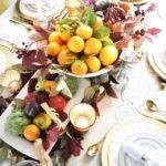 Осенние композиции из овощей и фруктов — фото в провинциальном стиле кантри