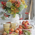 Осенний декор интерьера — фото идей в стиле кантри Прованс