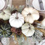 Декор стола в осеннем стиле — фото сервировки в манере французского Прованса