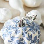 Декупаж тыквы в стиле Прованс — мастер-класс с пошаговыми фото