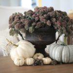 Осенние цветочные композиции из живых цветов — фото в нежных тонах стиля Прованс