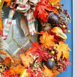 7 венков из осенних материалов — как сделать своими руками — фото-идеи