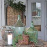 Оливковый цвет в интерьере — фото в стилистике французского кантри Прованса
