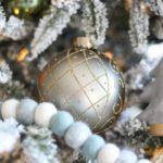 Новогодняя елка 2021 — фото с золотыми и серебряными шарами