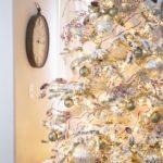 Оформление елки на Новый год 2021 — фото в утонченно-элегантном стиле