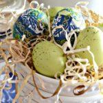 Как сделать декоративные яйца на пасху — 7 фото-идей