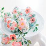 6 способов покраски пасхальных яиц красками