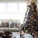 Украшение новогодней елки 2016 в стиле Прованс