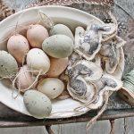 Пасхальная курочка: идеи декора к пасхе в стиле Прованс