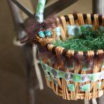 Как украсить пасхальную корзинку: 8 фото