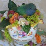 Пасхальное гнездо с птичкой своими руками: 15 фото