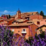 Город Руссильон – Франция цвета охры