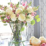 Красивый декор стола на день влюбленных — 10 фото в прованской стилистике