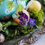 Сервировка пасхального стола — 25 фото в прованском стиле