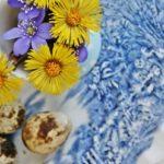 Пасхальные композиции из цветов — 30 фото в стиле французского кантри